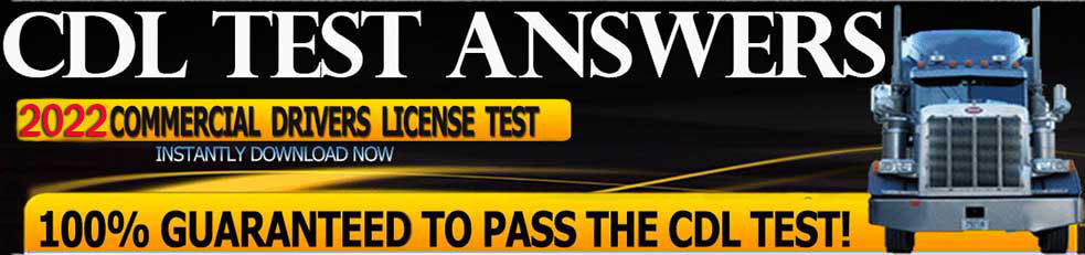 CDL Practice Test As Seen On